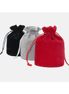 Premium Products Small Velvet Drawstring Storage Bags (9 cm x 14.5 cm)
