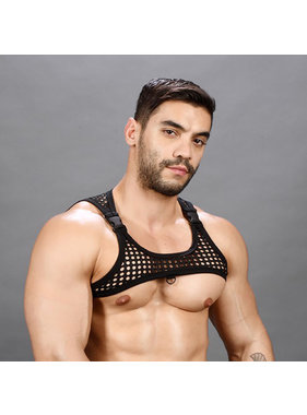 Andrew Christian Menswear Andrew Christian FUKR Buckle Net Harness (One Size)