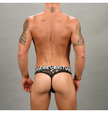 Andrew Christian Menswear Andrew Christian Disco Unicorn Rainbow Star Thong w/ Almost Naked