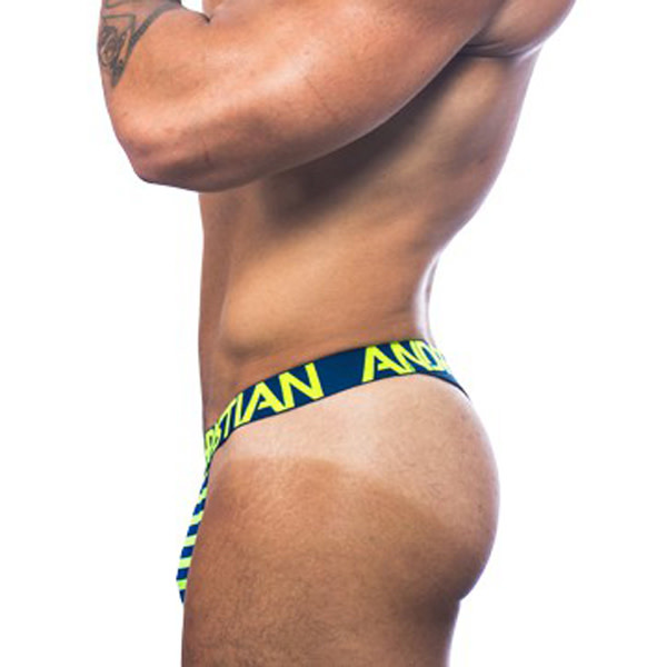 Andrew Christian Menswear Andrew Christian Almost Naked Electric Stripe Thong