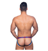 Andrew Christian Menswear Andrew Christian Pride Safety Pin Mesh Brief Jock w/ Almost Naked