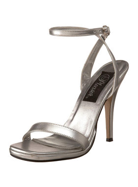 Pleaser USA Pleaser HONEY-25 Single Sole Mid Heel Sandal