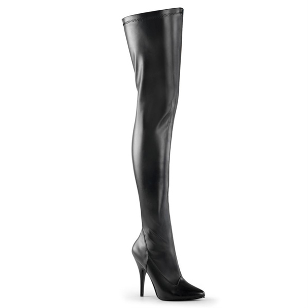 Pleaser USA SEDUCE-3000 Single Sole Thigh High Boot