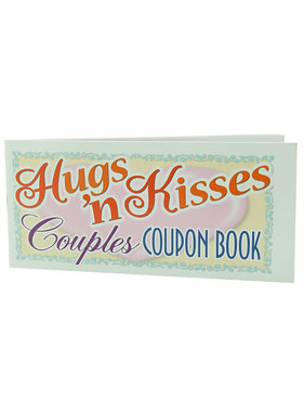 Pipedream Products Hugs 'N Kisses Couples Coupon Book