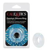 Cal Exotics Premium Silicone Cock Ring (Clear)