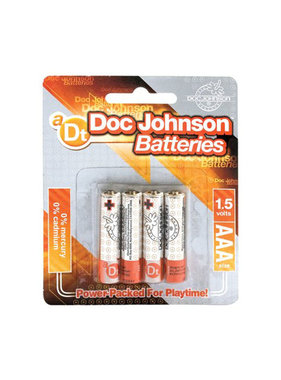 Doc Johnson Toys Batteries: AAA (4 Pack) [Doc Johnson]