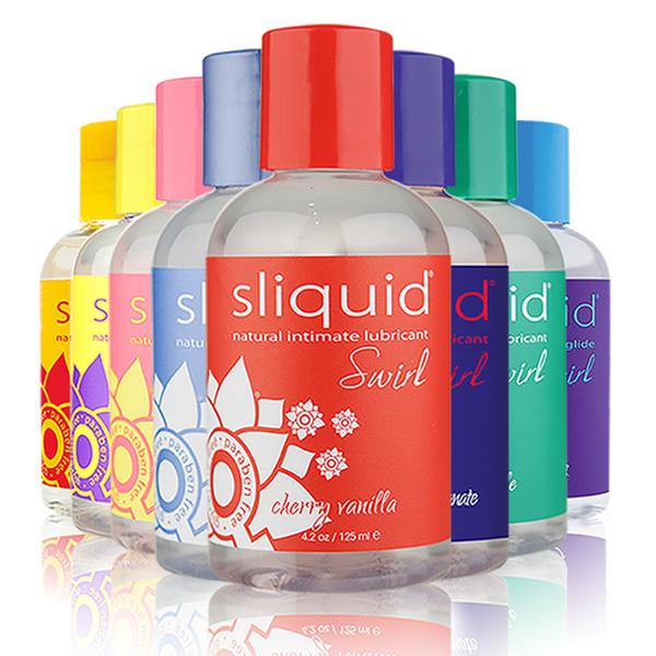 Sliquid Lubricants Sliquid Organics Swirl Flavoured Lubricant 4.2 oz (125 ml)