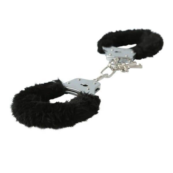 Sportsheets Black Furry Handcuffs