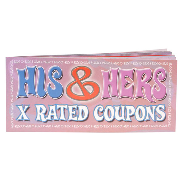 Pipedream Products X Rated Coupon Book - His & Hers