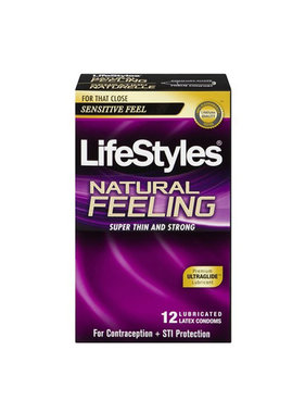 LifeStyles Condoms LifeStyles Natural Feeling Condoms 12 Pack