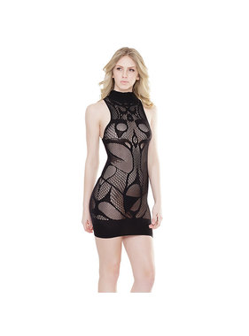 Coquette International Lingerie Coquette High Neck Sleeveless Dress
