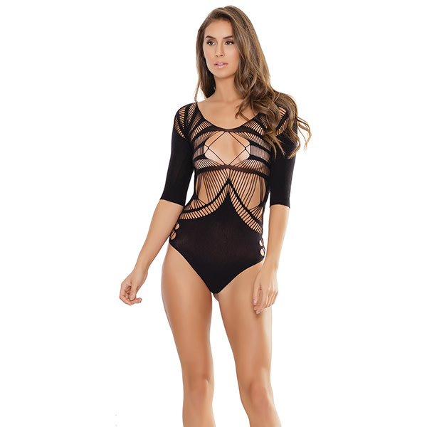 Coquette International Lingerie Strappy Teddy (One Size)