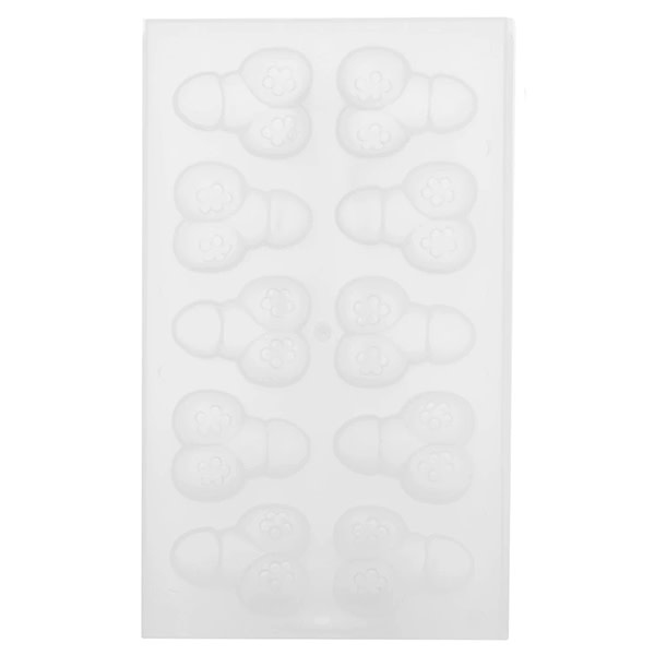 Pipedream Products Bachelorette Party Favors Lil' Chubby Pecker Ice Tray
