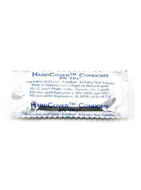 Hardcover Non-Lubricated Condoms 12 Pack