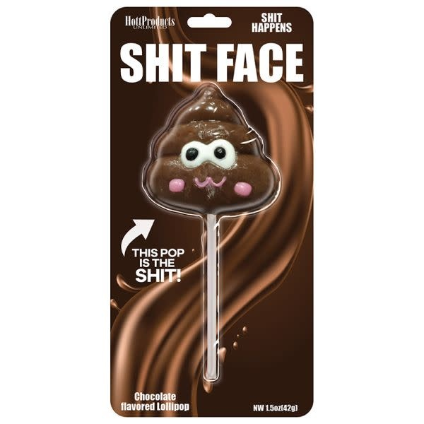 Hott Products Shit Face Chocolate Poop Pop