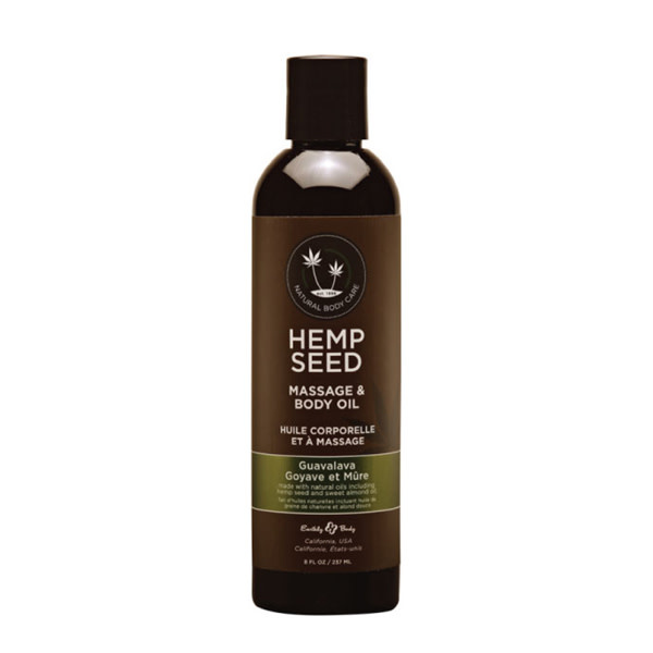 Earthly Body Earthly Body Massage Oil 8 oz (237 ml)