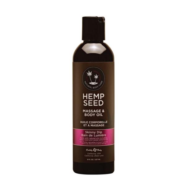 Earthly Body Earthly Body Hemp Seed Massage Oil 8 oz (237 ml)