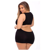 Pink Lipstick Hideaway Hottie Seamless Dress