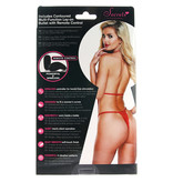 X-Gen Products Remote Vibrating Red Mesh Teddy (One Size)