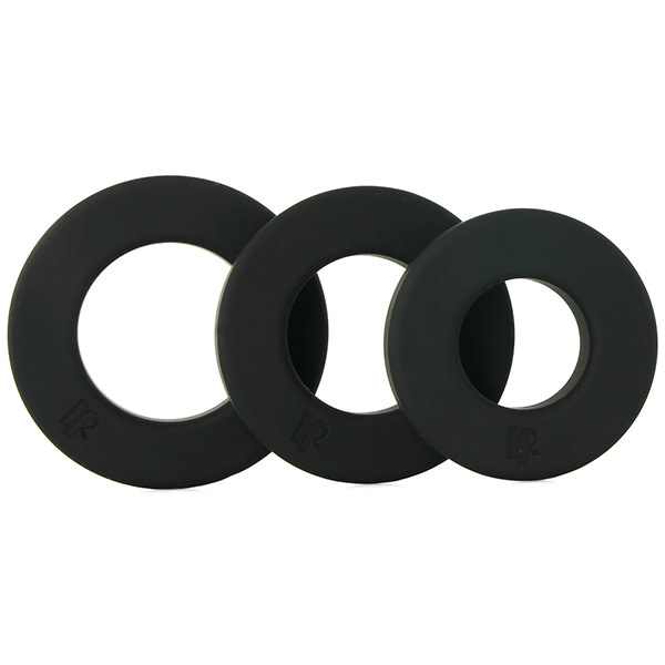 Doc Johnson Toys Kink Endure Premium Silicone C-Ring Set