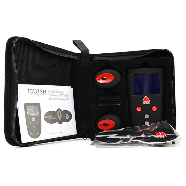Pipedream Products Fetish Fantasy Shock Therapy: Professional Wireless Electro-Massage Kit