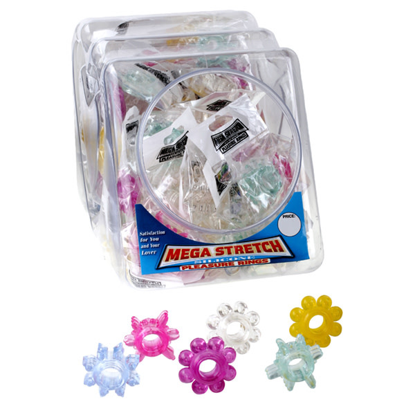 Pipedream Products Mega Stretch Cock Rings (Assorted)