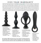 Evolved Toys Zero Tolerance Intro to Prostate Kit (Black)