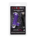 Cal Exotics Intimate Play Rechargeable Finger Teaser (Purple)