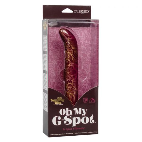 Cal Exotics Naughty Bits Vibrator: Oh My G-Spot
