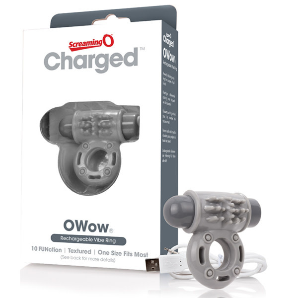 Screaming O Charged: O Wow (Grey)