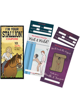 Kheper Games I'm Your Stallion Coupon Book