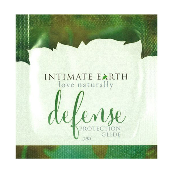 Intimate Earth Body Products Intimate Earth Defense Protection Glide 0.1 oz (3 ml) Foil Pack