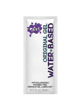 Wet Lubricants Wet Original Gel Lubricant Foil Pack