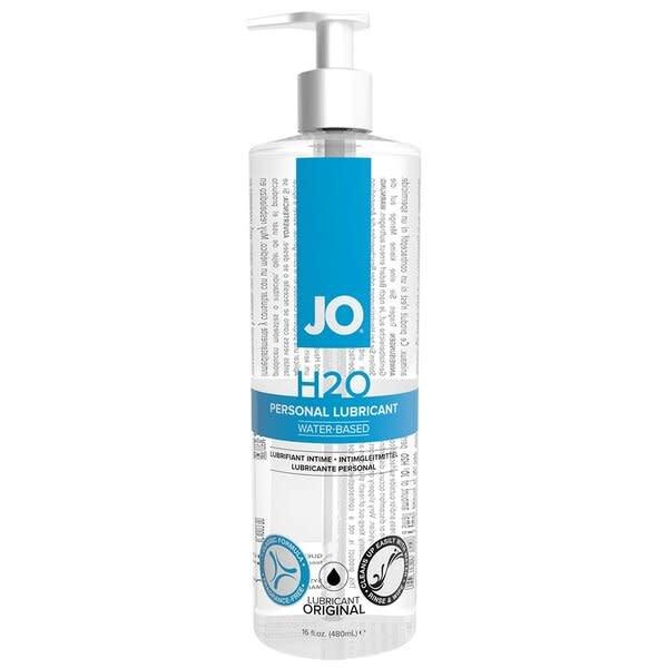 System JO Jo H2O Original Lubricant 16 oz (480 ml)