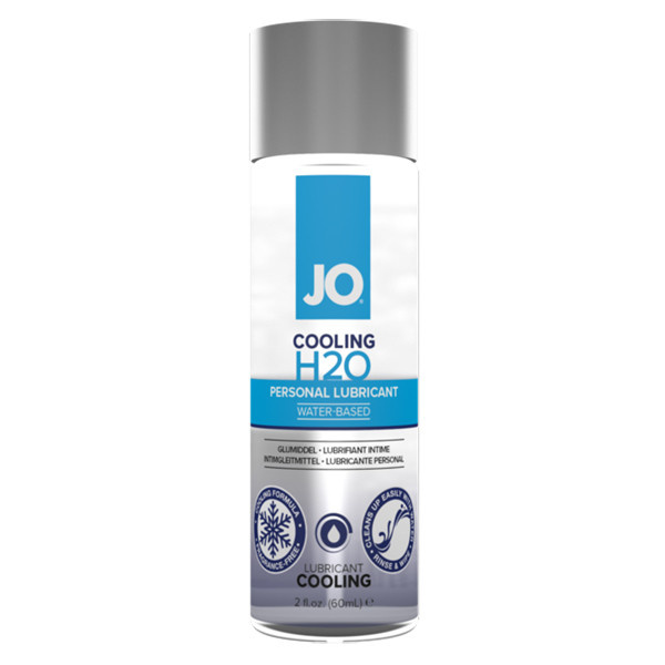 System JO Jo H2O Waterbased Cooling Lubricant  2 oz (60 ml)