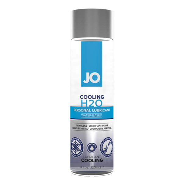 System JO Jo H2O Waterbased Cooling Lubricant  4 oz (120 ml)