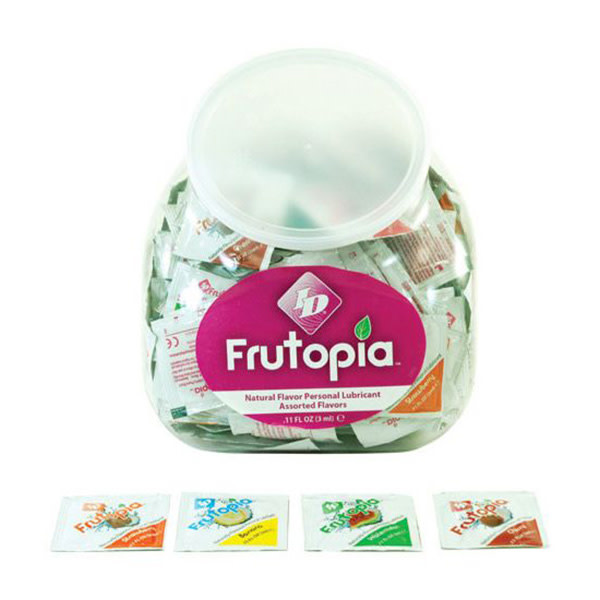 ID Lubricants ID Frutopia Flavoured Lubricant Foils (Assorted) 3 ml