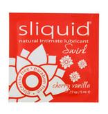 Sliquid Lubricants Sliquid Organics Swirl Flavoured Lubricant 0.17 oz (5 ml) Foil Pack