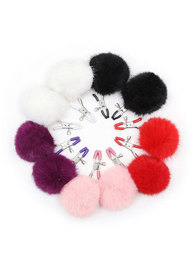Premium Products Premium Furry Nipple Clamps