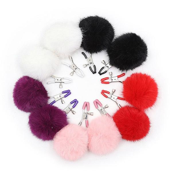 Premium Products Premium Furry Nipple Clamps