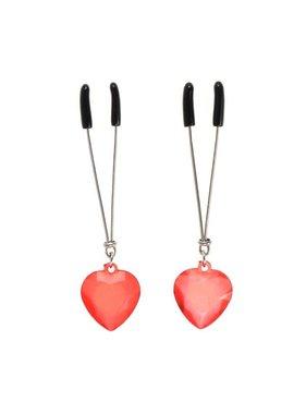 Premium Products Red Hearts Nipple Tweezers
