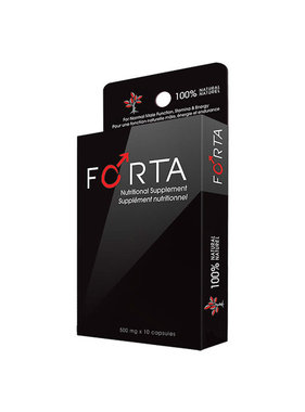 Vivo Brand Management Inc. Forta Male Libido Supplement Pills 10 Pack