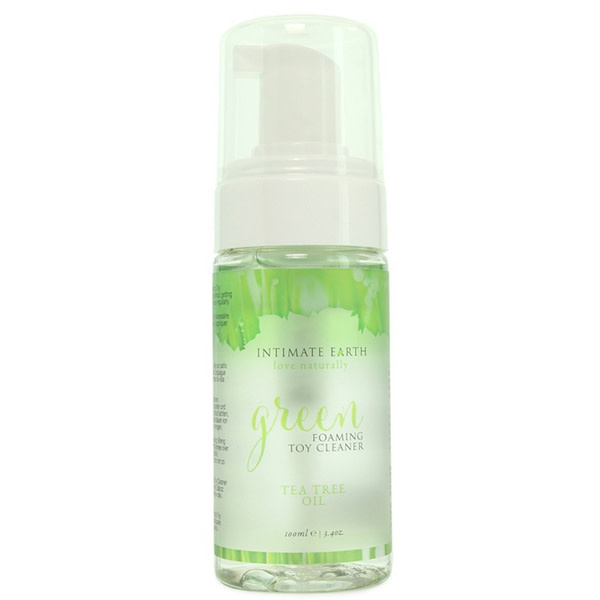 Intimate Earth Body Products Green Foaming Toy Cleaner 3.4 oz (100 ml)