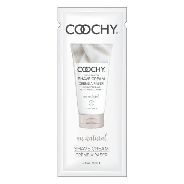 Classic Erotica Coochy Shaving Cream 0.5 oz (15 ml) Foil