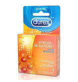 Durex Condoms Durex Intense Sensation Condoms 3 Pack