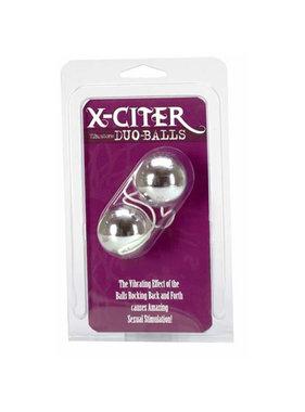 NMC X-Citer Vibratone Duo-Balls (Silver)