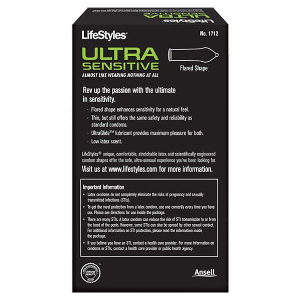 LifeStyles Condoms LifeStyles Ultra Sensitive Condoms  14 Pack