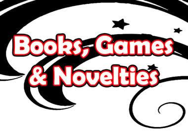 Books, Games & Novelties