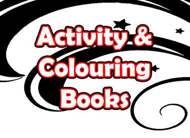 Activity & Colouring Books