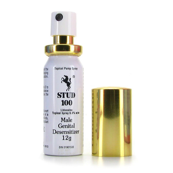 BMS Enterprises Stud 100 Delay Spray 0.4 oz (12 ml) (Lidocaine 9.6%)